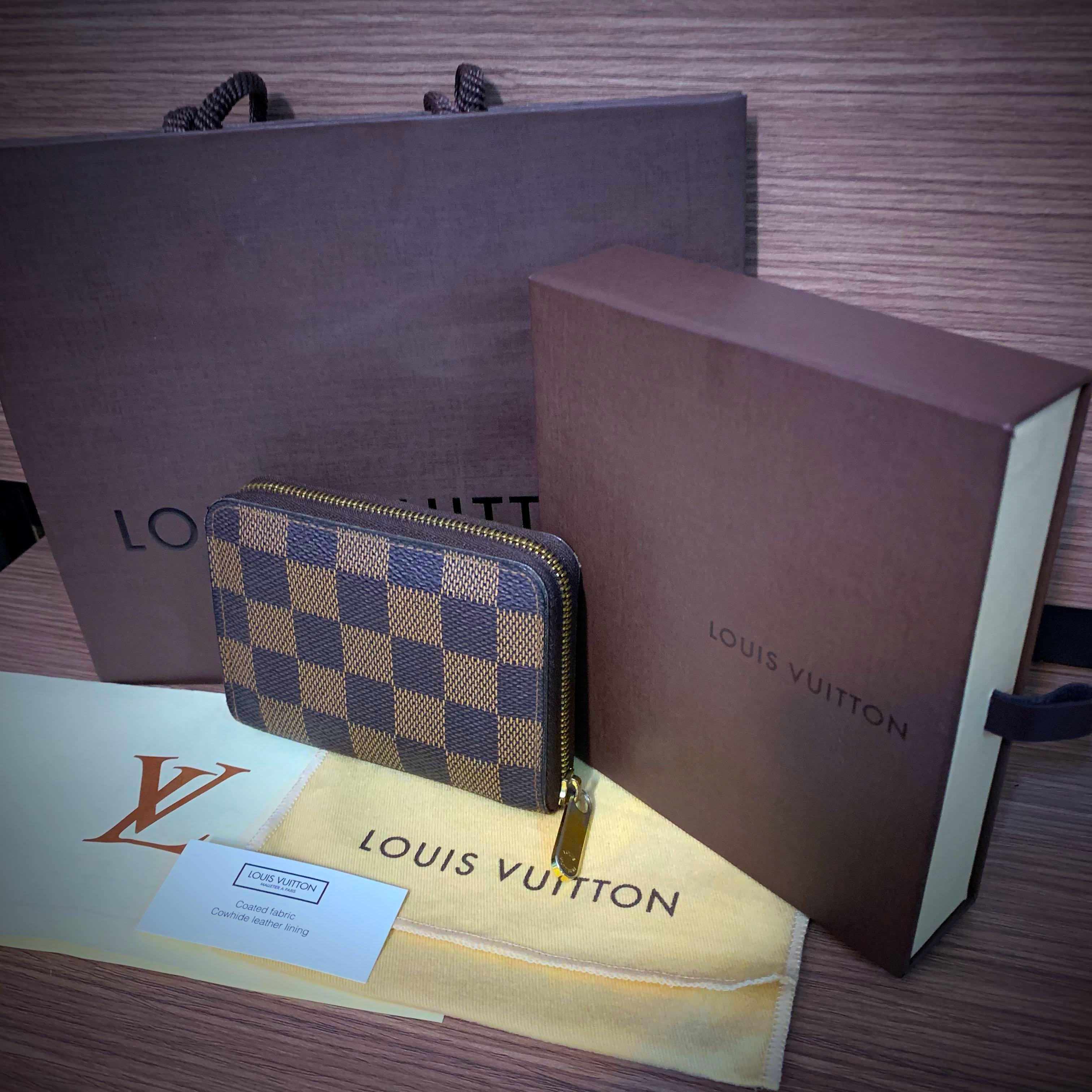 850cd72a2c78 Louis Vuitton LV Daimer Ebene Zippy Coin Purse Wallet (Tampines Town ...