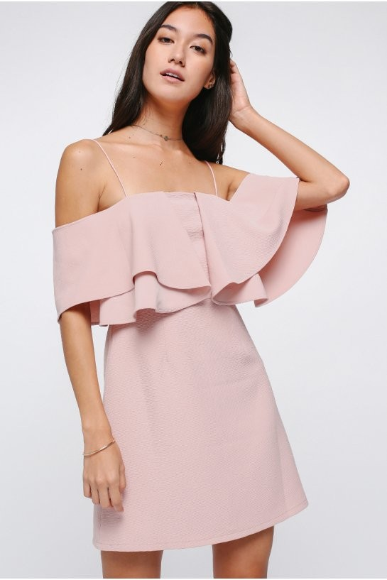 d857406d4905 Love bonito Theora off shoulder dress in blush size S brand new ...