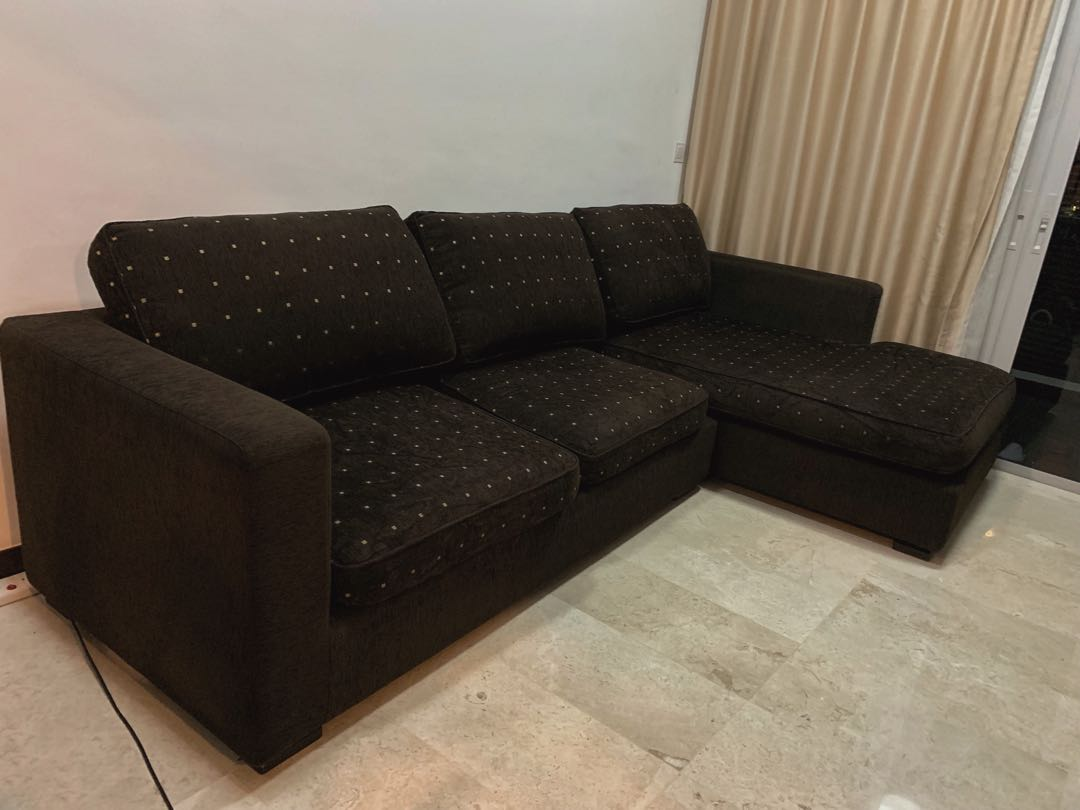 L Shape Comfy Sofa Furniture Sofas On Carousell