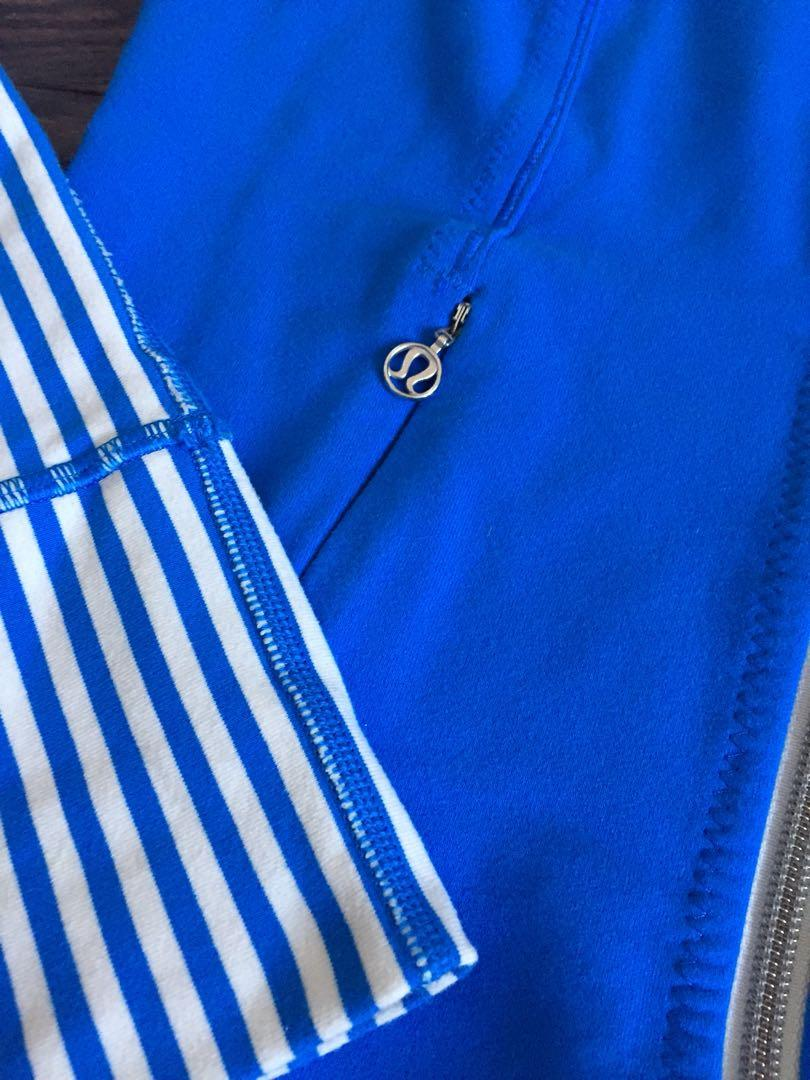 Lululemom 'daily yoga jacket' - size 2 - excellent used condition