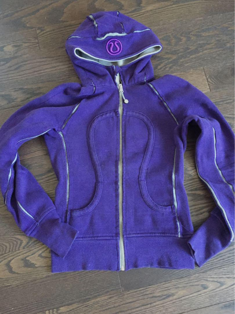 Lululemon scuba hoodie - size 2 - excellent used condition