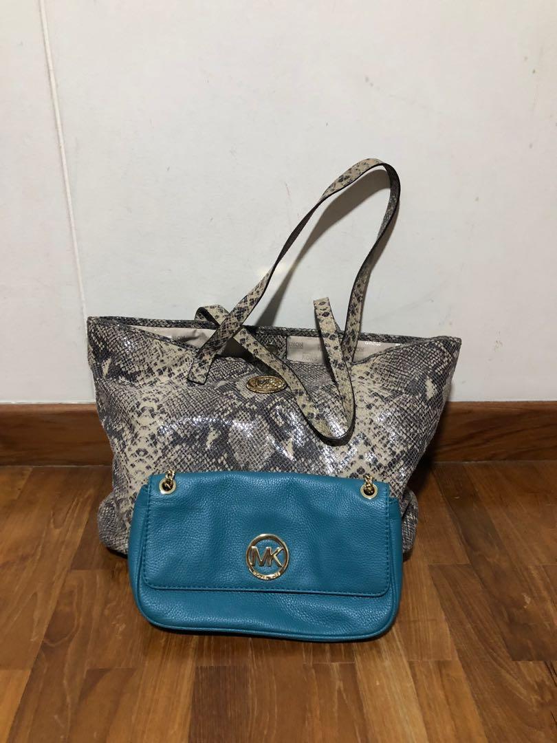 a9fdfe3e56d18d Michael Kors Handbag and sling bag, Women's Fashion, Bags & Wallets ...