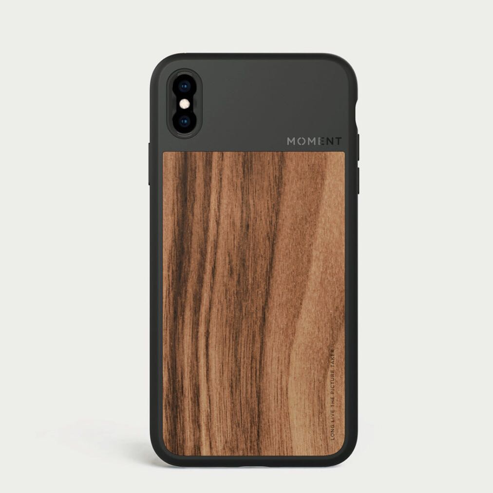 best website d2a0d 80641 Moment Iphone X / XS Case (Wooden)