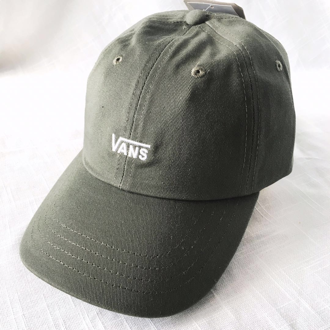 e6397b183b9 NEW! Authentic Vans Green Strapback Cap   Hat