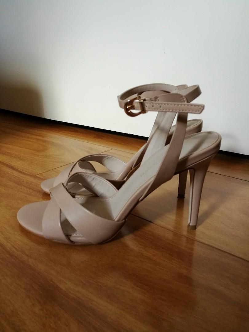 Nude heels from Forever New