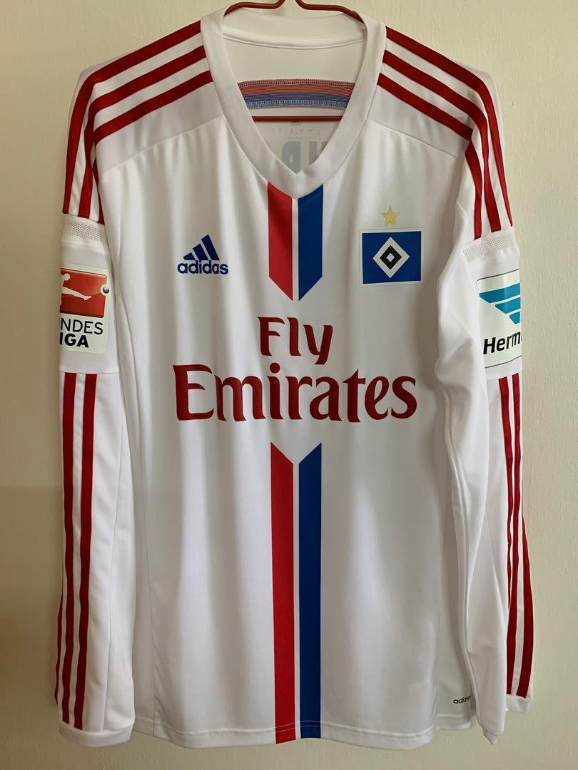 9ea328a84 Official Authentic ADIDAS 2014-15 HAMBURG PLAYER ISSUE ADIZERO HOME ...