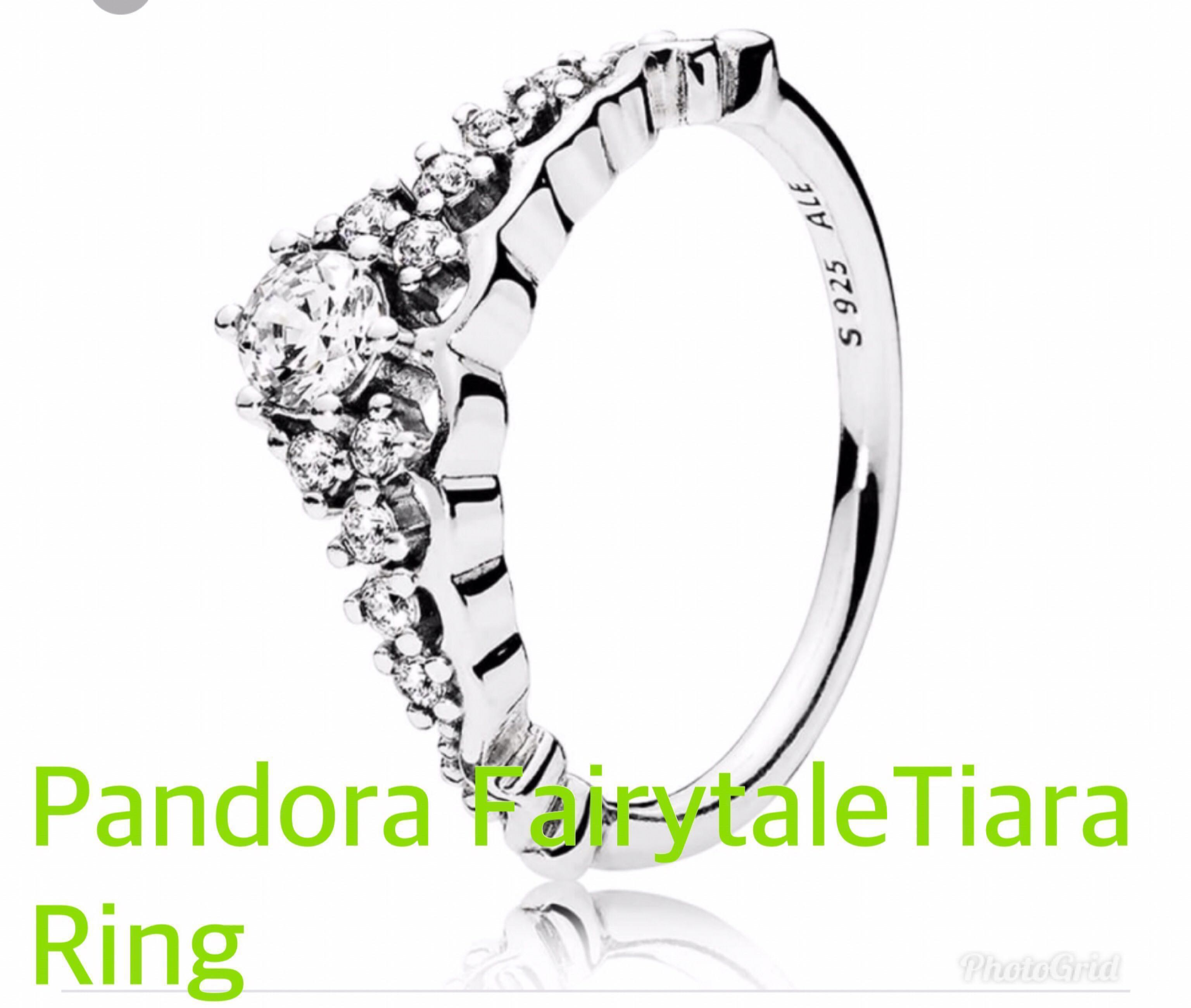 18694d44b Pandora Fairytale Tiara Ring, Women's Fashion, Jewellery, Rings on ...