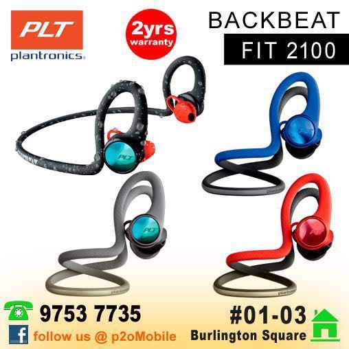 9ba29a34dd5 Plantronics BackBeat Fit 2100 True Wireless Sport, Electronics ...