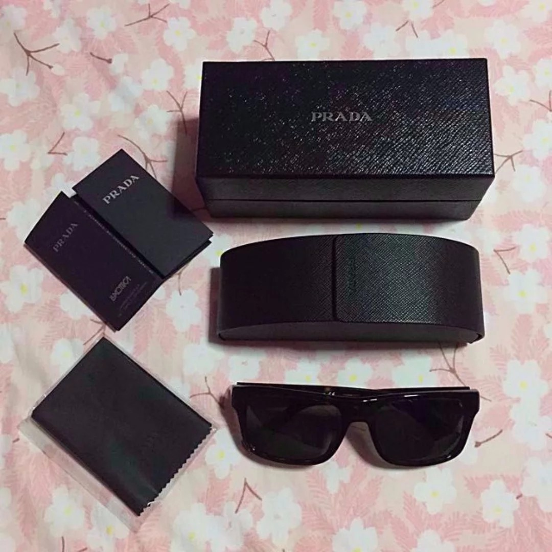 b71089bb8bb1c Prada Sunglasses (SPR 18P   2AU-0B2)