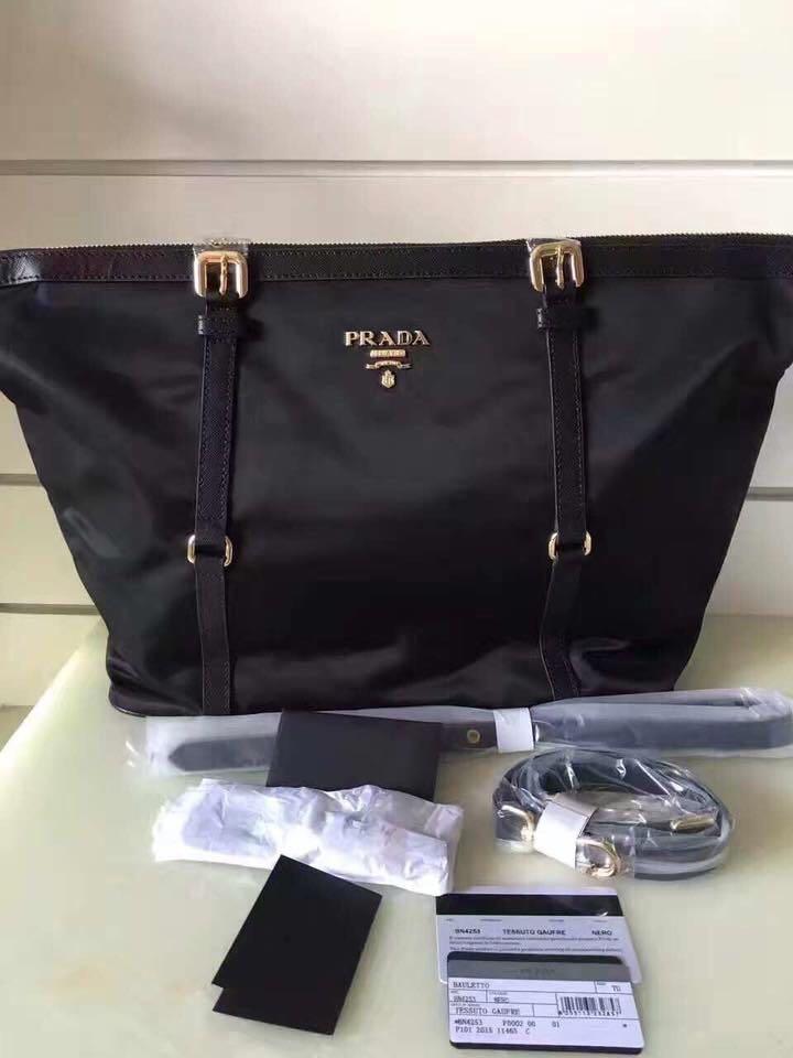 92f27fd82fc8f5 Prada tessuto bag Authentic Grade Quality, Women's Fashion, Bags ...