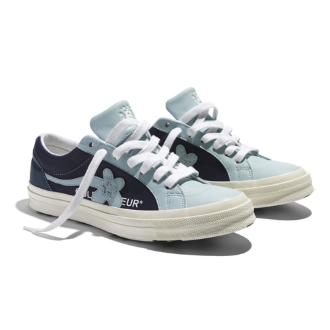 official photos 8473e 47e6c (Pre-Order) Converse x Golf Le Fleur Blue, Men s Fashion, Men s Footwear on  Carousell