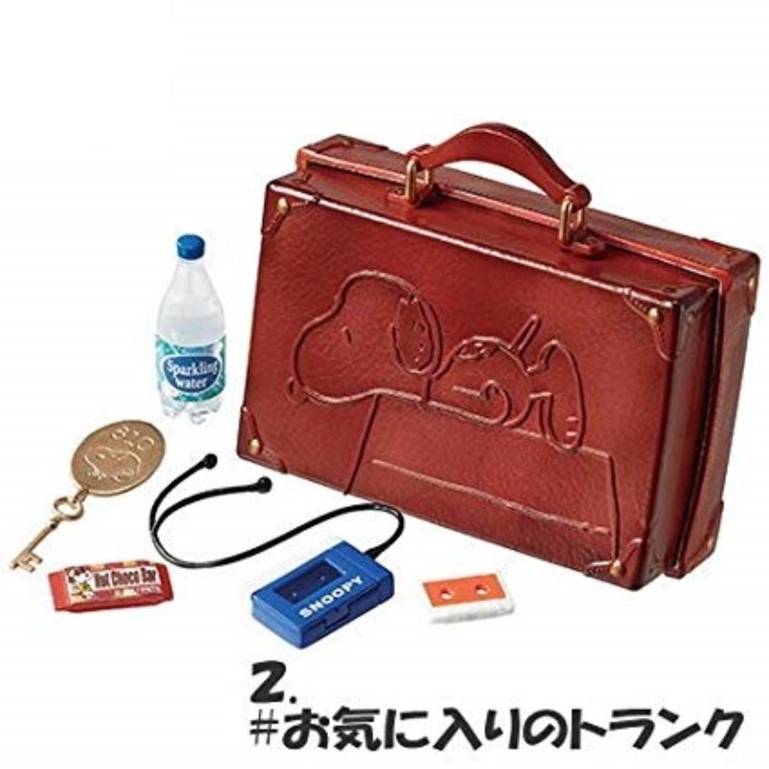 Re-Ment Peanuts Snoopy Holiday Trip Go to America 史路比 # 2 Luggage