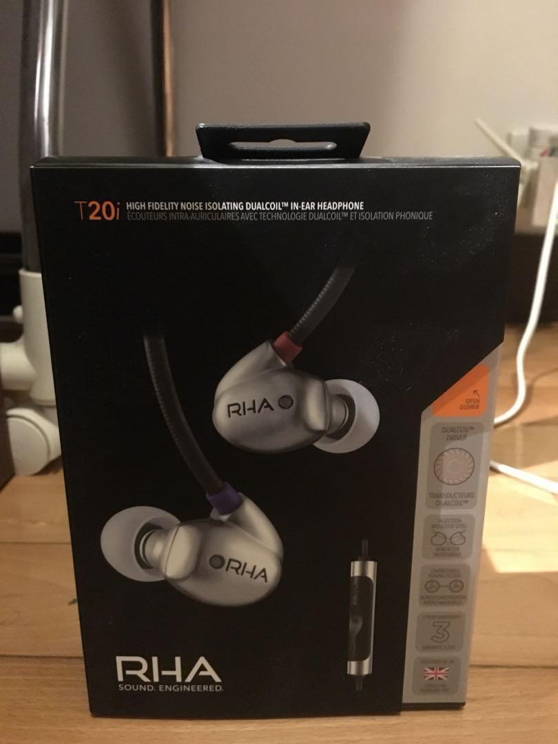 RHA T20i 耳機