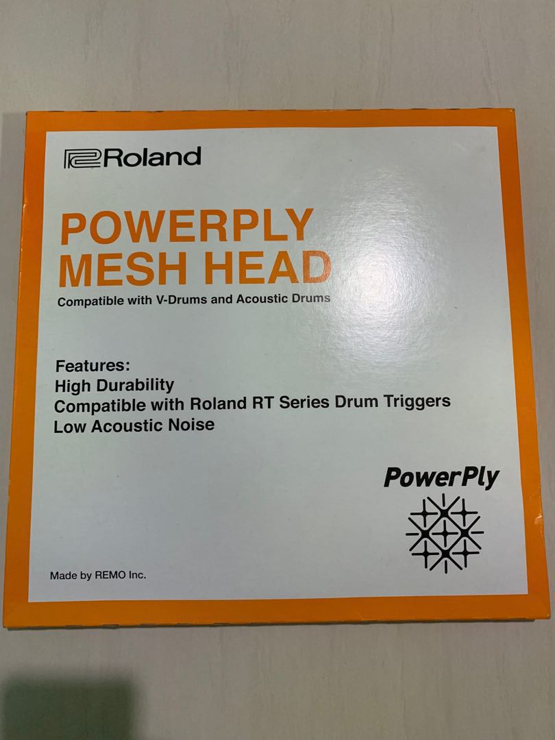 Drumset Drumheads 14 Parts & Accessories Roland MH2 PowerPly