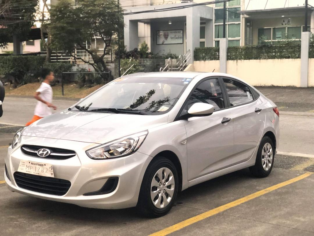 Rush rush rush Hyundai Accent 1.6 automatic, diesel.  Model 2016 Milleage: 32k + RFS: to upgrade to MUX  SP: 550k With comprehensive car insurance Jan. 2019-2020