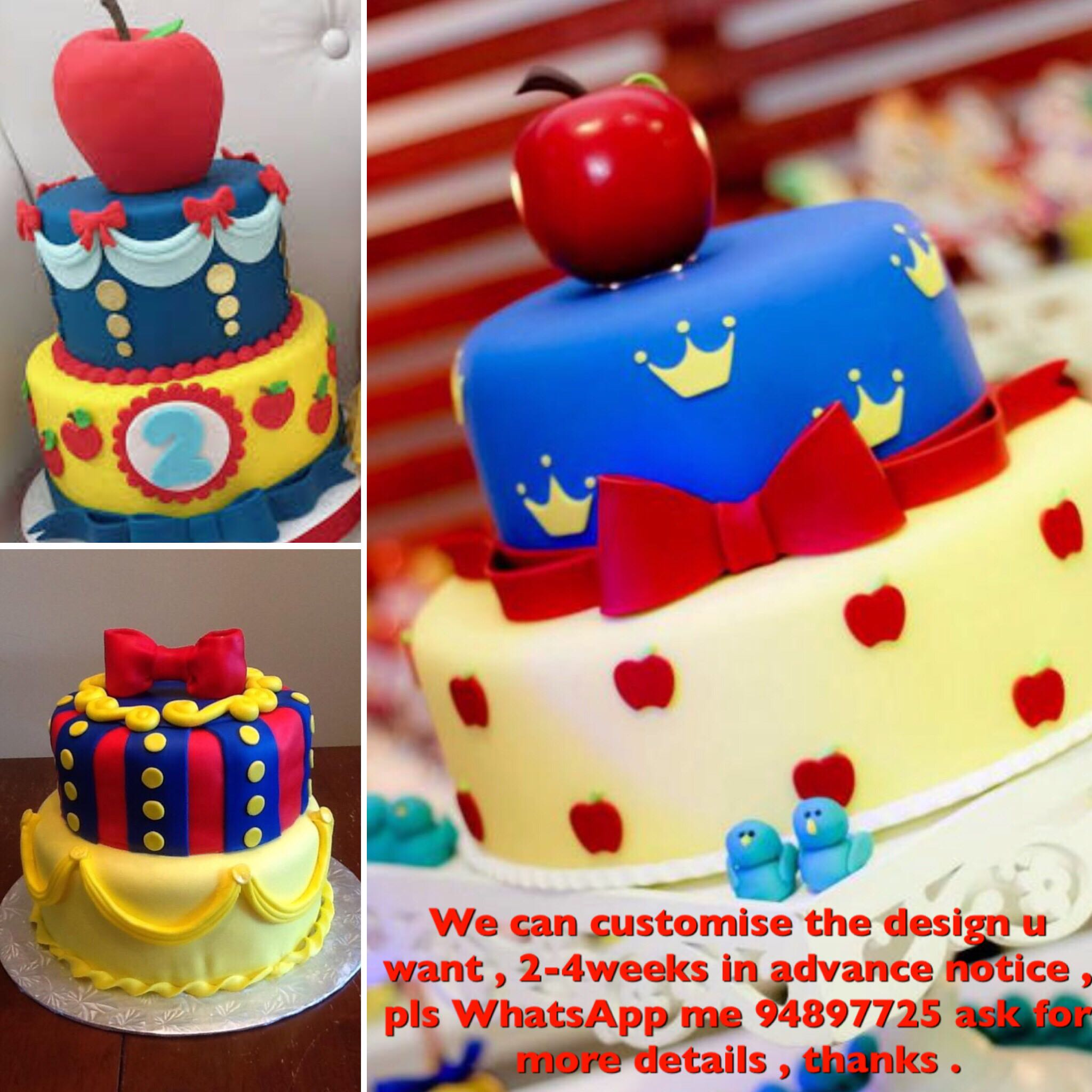 Snow White birthday cake, Babies & Kids, Toys & Walkers on Carousell