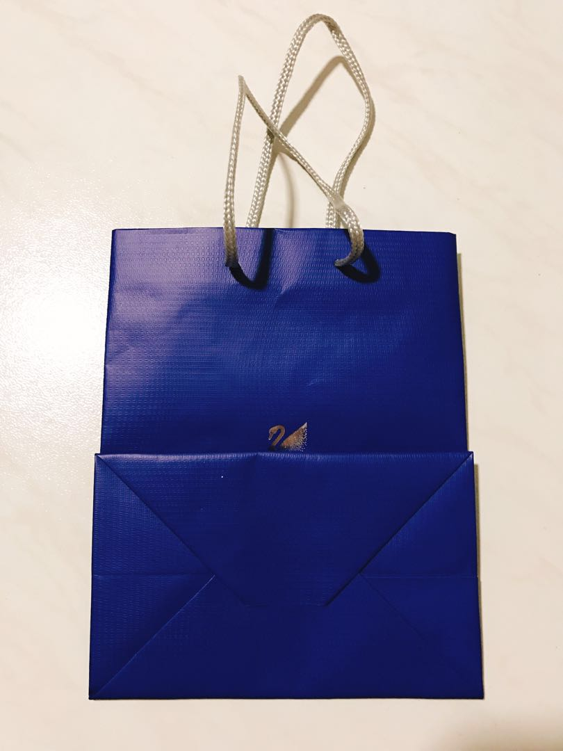 ba995004130 Swarovski paper bag / carrier / shopping bag, Luxury, Bags & Wallets,  Others on Carousell