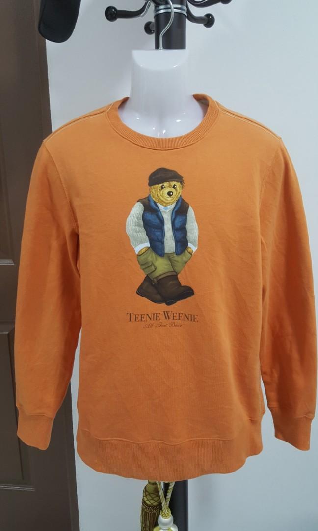 9e5f39d5 Teenie Weenie Polo Bear Vintage Sweatshirt, Fesyen Lelaki, Pakaian,  Lain-lain di Carousell