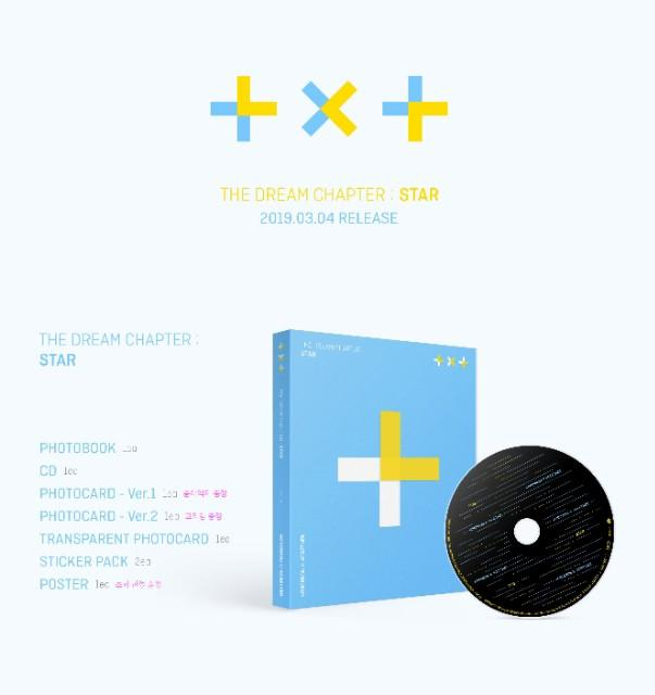 [Pre-Order] The Dream Chapter: Star by Tomorrow X Together