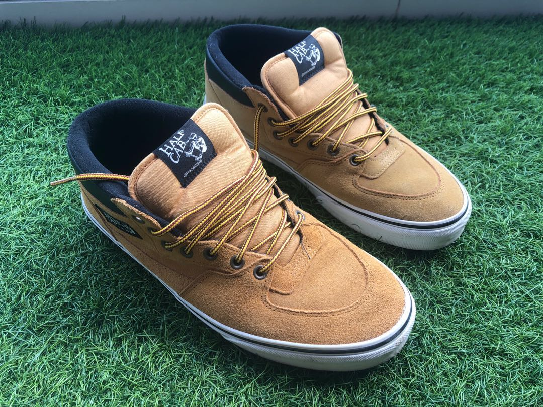 8f0da174e0 Vans Half Cab Brown Leather Suede