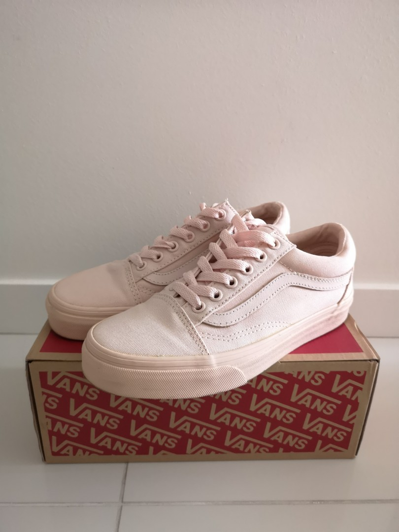 Vans Old Skool (Mono Canvas) Peach Blush