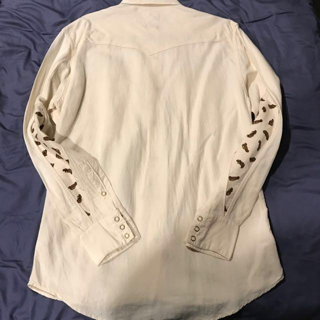 Visvim 2015 FW Albacore Cotton/linen Shirt