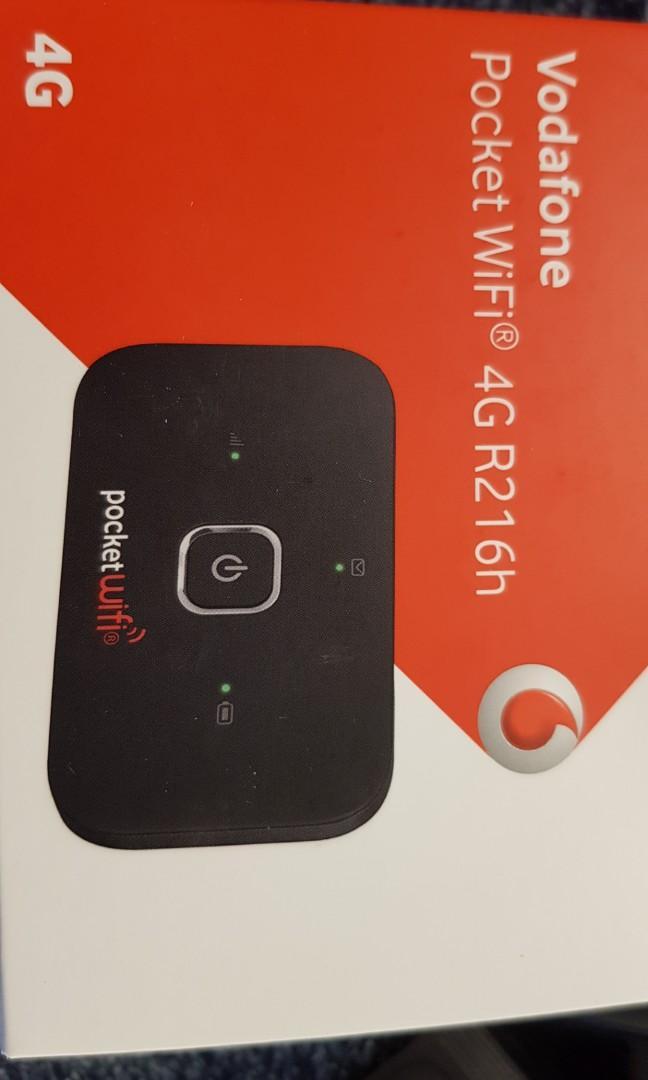 Vodafone pocket Wifi 4G R216h