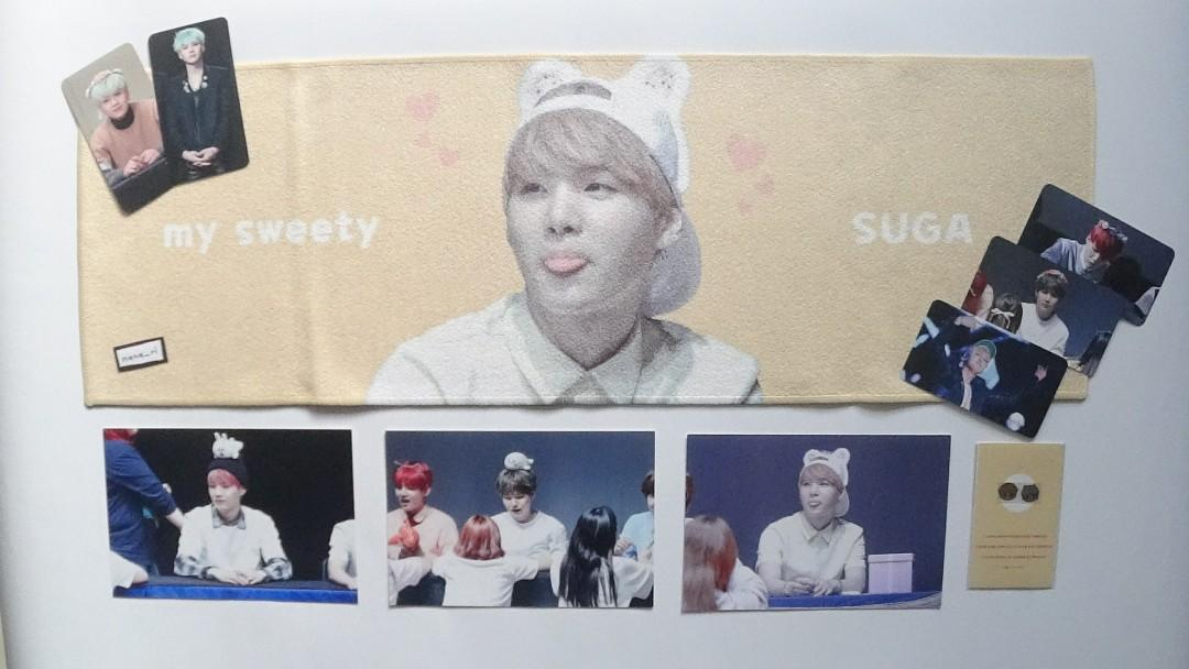 ⚡ (WTS) Sweet as Suga by Chemistry_SUGA Fansite Merch BTS SUGA