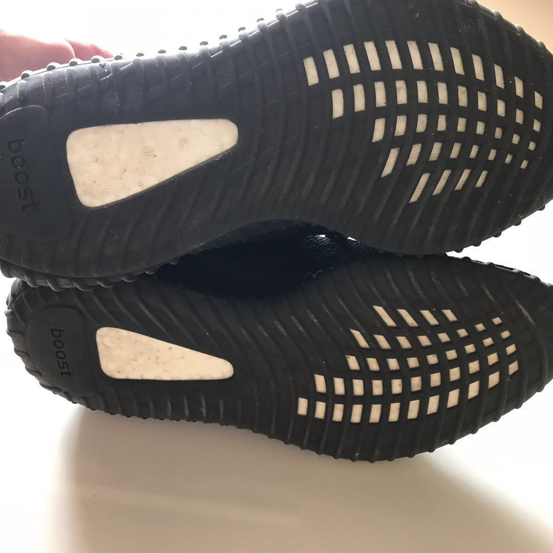 a930200aafd Yeezy Boost 350 V2 Core Black White Oreo US8 UK7.5