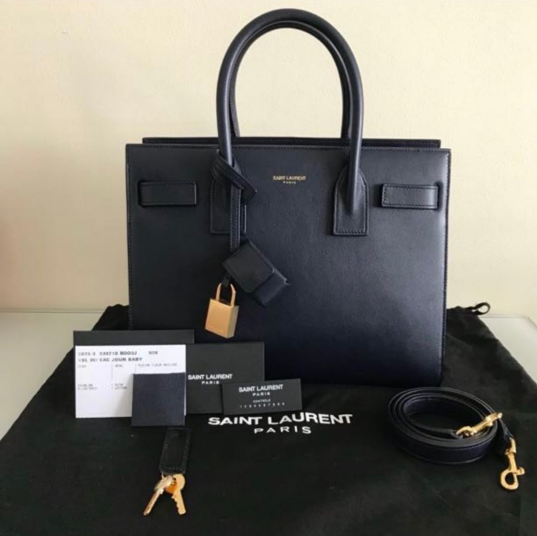 bcab7dce0c Yves Saint Laurent Sac De Jour, Luxury, Bags & Wallets, Handbags on ...