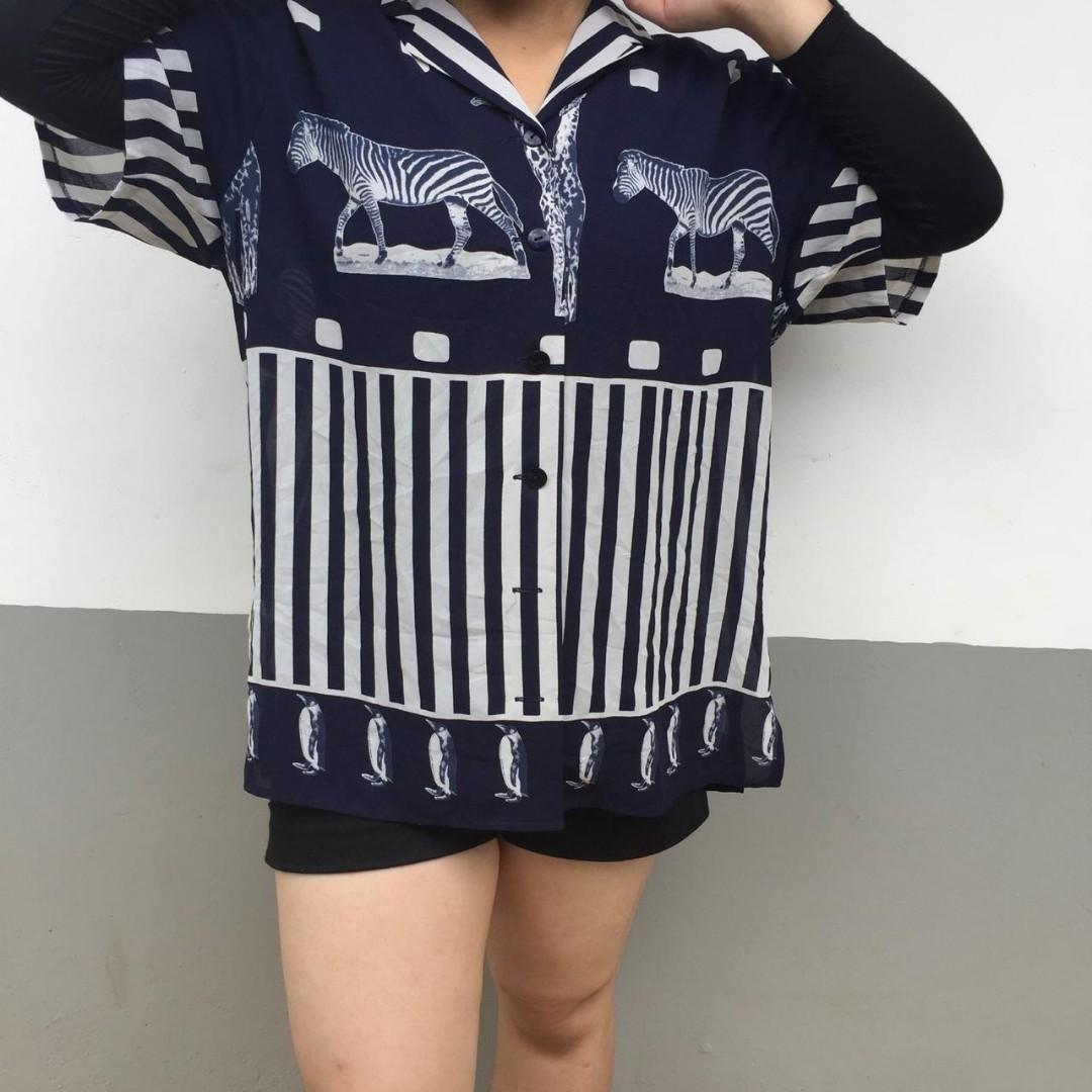Zebra Shirt