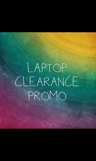 Laptop Clearance Sale ! From ONLY $100