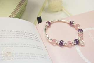 【紫薇】🔮紫水晶手鏈 | 925純銀