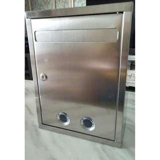 Stainless Steel Mailbox / Mail box / Letter box / Suggestion box (Brand New)