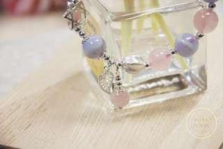 【摩天輪🎡】🔹藍紋石水晶手鏈🔹| 925純銀