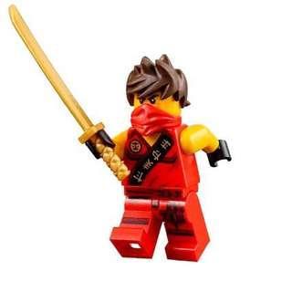 LEGO 70752 NINJAGO JUNGLE TRAP KAI MINIFIGURES MODEL TOY DISNEY MARVEL DC