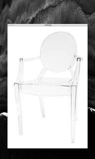🚚 ghost chair