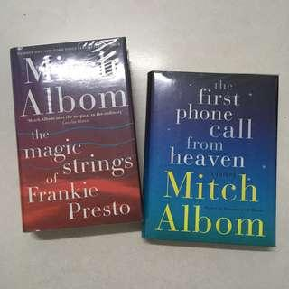 Items for Sale: Mitch Albom Hardcover books