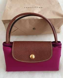 LongChamp Bag 100% new handcarry dr eropa shorthandle