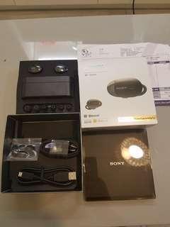 sony WF-1000x 無線藍芽耳機 黑色 行機