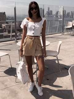 Zara Striped Skort