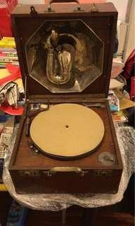 古老唱片機