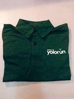 🚚 YOLO Run Finisher PoloTee XS size