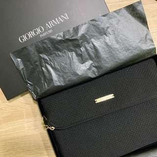 🚚 全新Giorgio Armani 手拿化妝包
