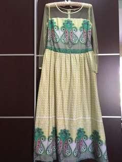 Gamish/Long Dress batik