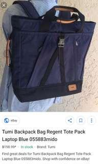 Tumi regent 2 way bag