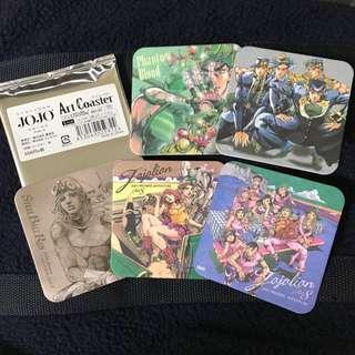 日本帶回 JOJO的奇妙冒險 JOJO展 大阪場 圖卡杯墊