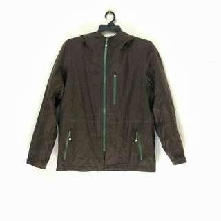 Uniqlo ZippedUp Jacket Windbreaker Raincoat with Hoodie