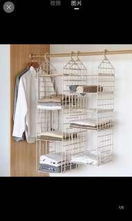 🚚 衣櫃收納架