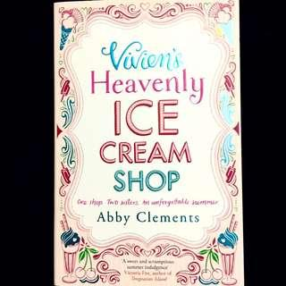 Vivien's Heavenly Ice Cream Shop by Abby Clements (romance book)